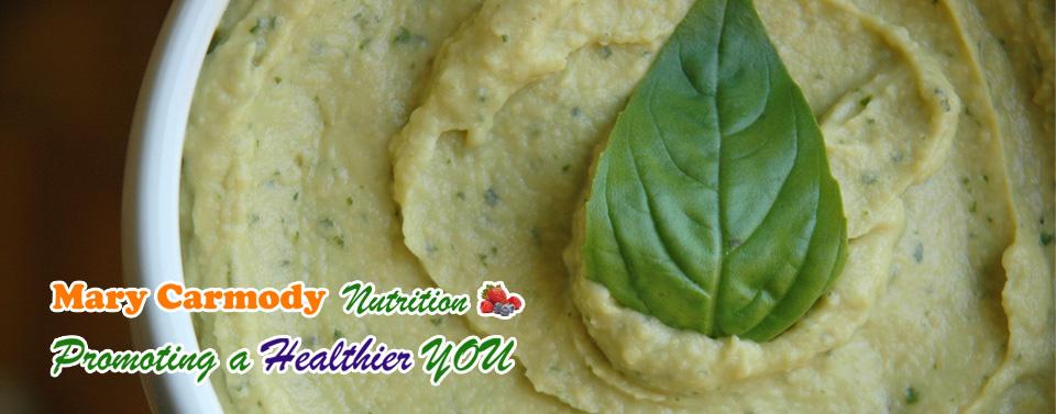 Simple Basil Hummus Recipe Mary Carmody Nutrition Cork