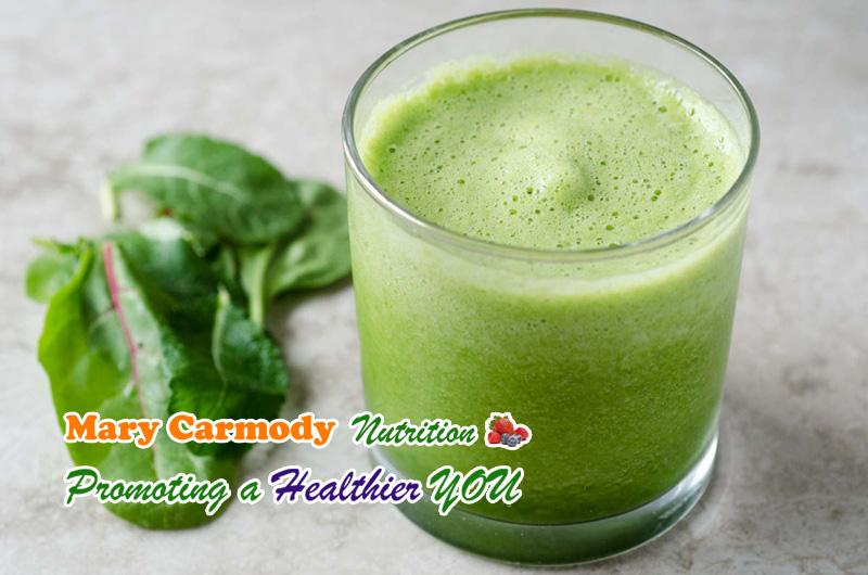 Green Smoothie Recipe Mary Carmody Nutrition