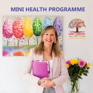 Mini Health Programme Mary Carmody Nutrition Cork